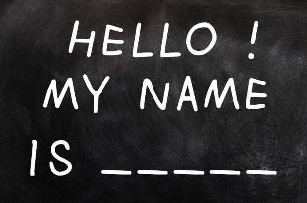 Hvad koster det at skifte navn?